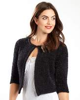 Joe Browns Sequin Fluffy Shrug