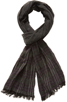 John Varvatos Men's Ombre Plaid Scarf