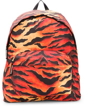 DSQUARED2 Tiger-Print Oversized Backpack