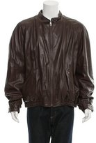 Bally Russel Reversible Leather Jacket