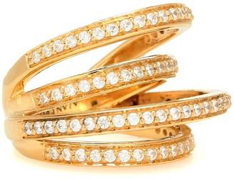Alan Crocetti Encrusted Space ring