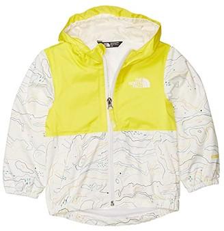 The North Face Kids Zipline Rain Jacket (Toddler) (TNF White Little Yose Print) Kid's Clothing