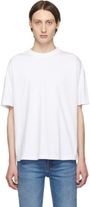 Balenciaga White Logo T-Shirt