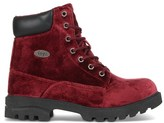 Lugz Women's Empire High Velvet Lace Up Boot