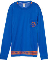 PINK Boise State University Long Sleeve Campus Tee