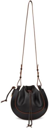 Loewe Black Horseshoe Bag