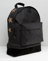 Mi-Pac Exclusive Rose Gold Top Stars Backpack