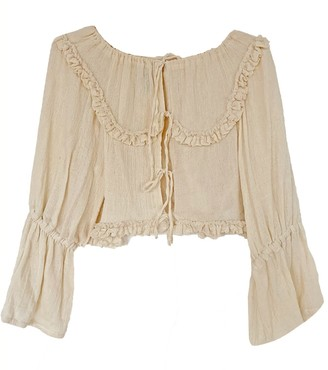 Solai Cheese Cloth Blouse