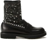 A.F.Vandevorst studded boots - women - Sheep Skin/Shearling - 36