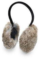 Saks Fifth Avenue Rabbit Fur Ear Muff