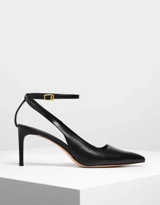 Charles & KeithCharles & Keith Ankle Strap Slingback Heels