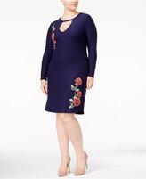 Planet Gold Trendy Plus Size Bodycon Dress