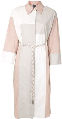 Lorena Antoniazzi Long Sleeve Straight Shirt Dress