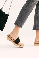 Free People Fp Collection Azure Footbed Sandals by FP Collection at