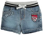Dolce & Gabbana Denim Effect Cotton Shorts