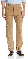 Izod Men's Flat Front Straight Fit Corduroy Pant