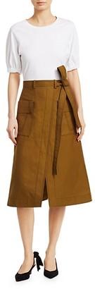 3.1 Phillip Lim Tee Topstitch Skirt A-Line Dress