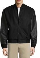 VINTAGE LEATHER Vintage Leather Varsity Jacket Varsity Jacket