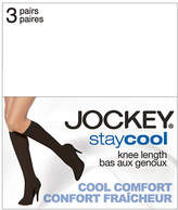Jockey 3 Pack Stay Cool Knee High Pantyhose