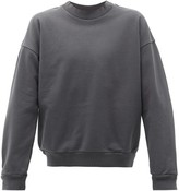 Jeanerica Jeans & Co. - Crew-neck Cotton-jersey Sweater - Mens - Grey