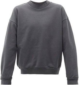 Jeanerica Jeans & Co. - Crew-neck Cotton-jersey Sweatshirt - Mens - Grey