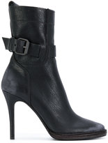 Haider Ackermann high heel ankle boots with buckle