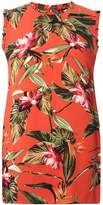 Dorothy Perkins **Tall Orange Tropical Shell Top
