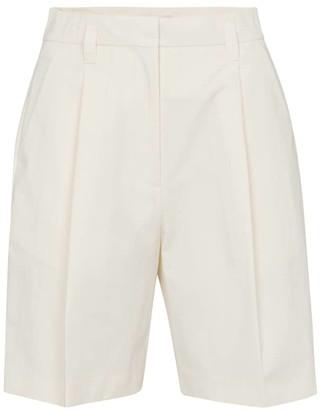 Low Classic High-rise cotton-blend shorts