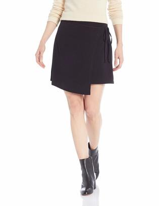 BCBGeneration Women's WRAP Knit Mini Skirt