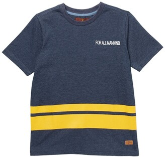 7 For All Mankind Crew Neck Short Sleeve Logo T-Shirt