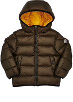Moncler Serge Contrast-Interior Hooded Jacket-GREEN