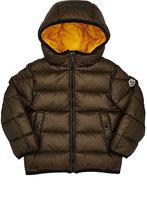 Moncler Serge Contrast-Interior Hooded Jacket
