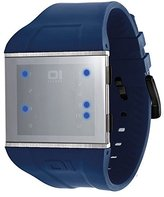 01 The One 01TheOne Unisex SLS113B3BL Slim Square Slim Square Series Watch