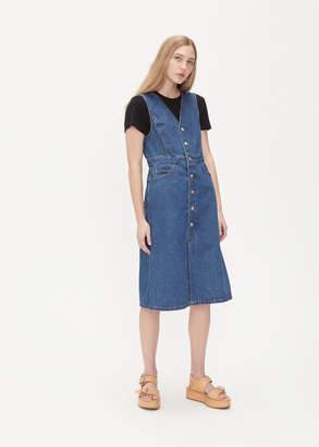 TOMORROWLAND Denim Button Up Dress