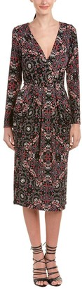 BCBGeneration Women's Drape Pocket Printed Dress