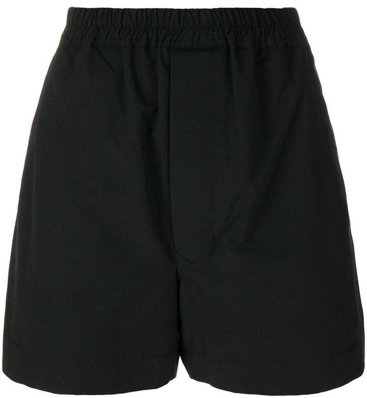Rick Owens elasticated hem shorts