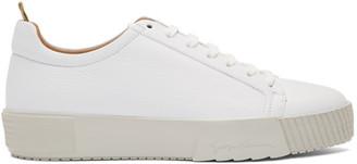 Giorgio Armani White Deer Lux Sneakers