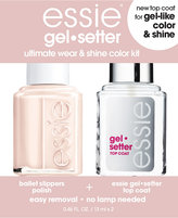 Essie Gel-Setter Duo Kits, Ballet Slippers