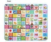 Oanon Baby Care Play Mat Play Game Letter Alphabet Mat Carpet Picnic Mat 180X150CM