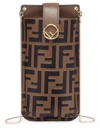 Fendi FF motif phone pouch