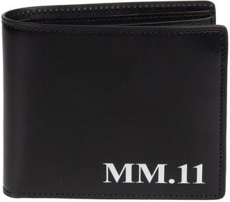 Maison Margiela Logo Stamped Wallet