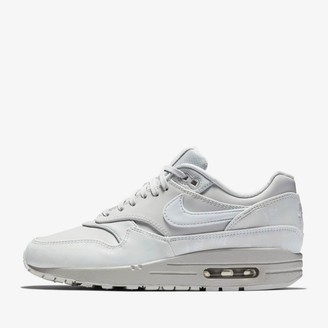 Nike Pure Platinum Glow in the Dark Women's Air Max 1 LX Shoes - 36 1/2