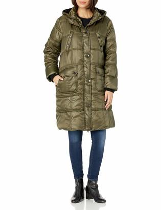 Urban Republic Women's Juniors Puffer Poly Polyfill Jacket
