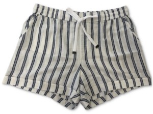 Style&Co. Style & Co Striped Shorts, Created for Macy's