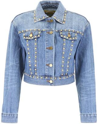 MICHAEL Michael Kors Studded Cropped Jacket