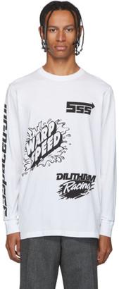 SSS World Corp White Sponsors Long Sleeve T-Shirt