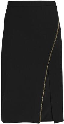 Mason by Michelle Mason Zip-detailed Cady Skirt