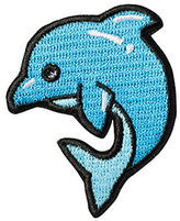 Stoney Clover Lane Dolphin Sticker Patch