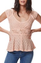 Free People Women's Besties Lace Tee
