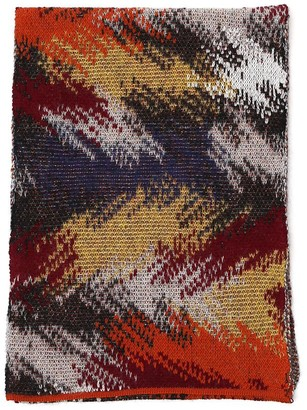 Missoni Patterned Knitted Scarf
